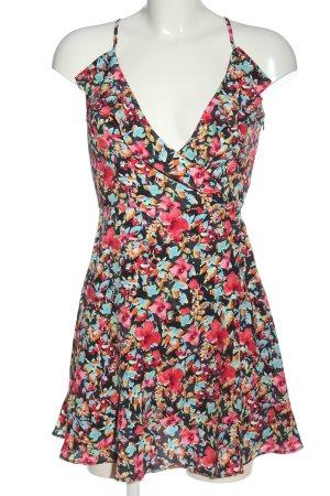 Zara Basic Sommerkleid Allover-Druck Elegant
