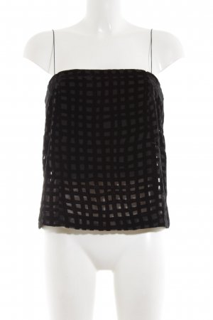 Zara Basic Spaghettiträger Top schwarz schlichter Stil