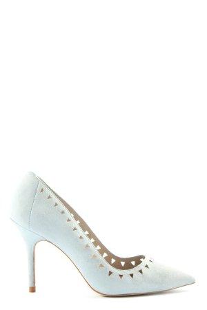 Zara Basic Spitz-Pumps blau Elegant