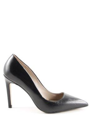 Zara Basic Spitz-Pumps schwarz Business-Look