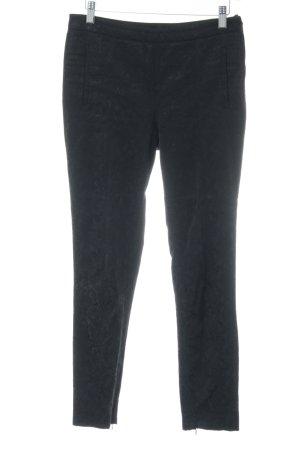Zara Basic Pantalone sfoderato nero stile casual