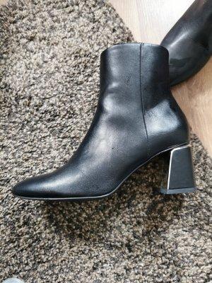 Zara basic stiefelette schwarz