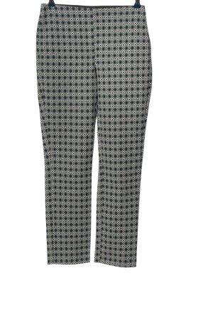 Zara Basic Stoffhose Allover-Druck Casual-Look