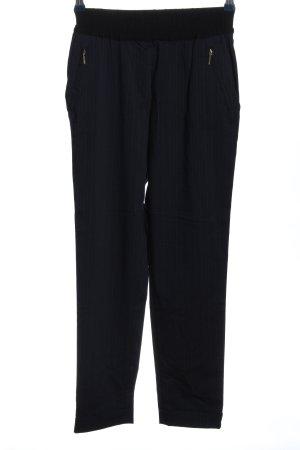 Zara Basic Stoffhose Streifenmuster Casual-Look