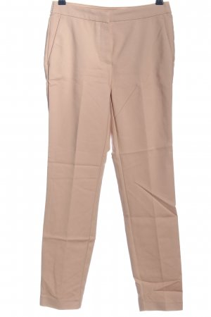 Zara Basic Stoffhose creme Business-Look