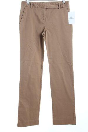 Zara Basic Stoffhose beige schlichter Stil