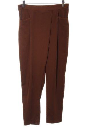 Zara Basic Stoffhose braun, modicher Stil, Sommerhose, Gr. M