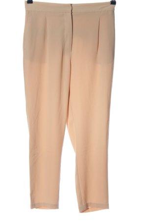 Zara Basic Stoffhose nude Business-Look