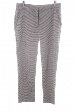 Zara Basic Stoffhose Hahnentrittmuster Business-Look