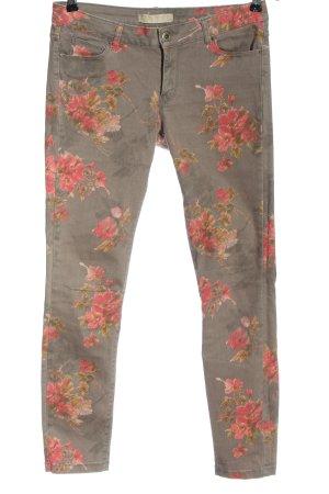 Zara Basic Jeansy z prostymi nogawkami Na całej powierzchni W stylu casual