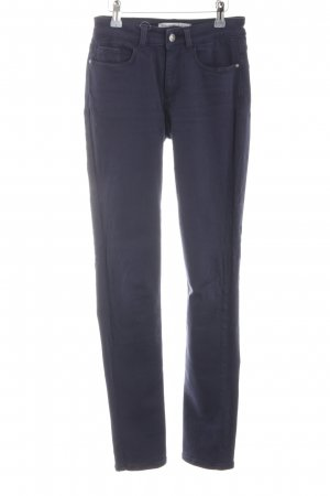 Zara Basic Stretch Jeans blau Casual-Look