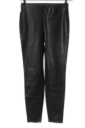 Zara Basic Stretch Trousers black casual look