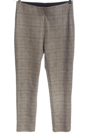Zara Basic Stretch Trousers light grey allover print business style