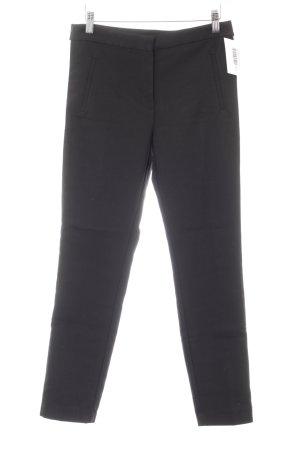 Zara Basic Stretch Trousers black-white casual look