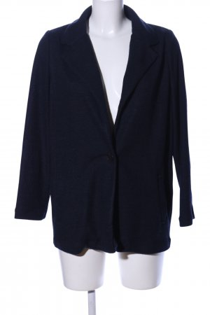 Zara Basic Strickblazer schwarz Casual-Look