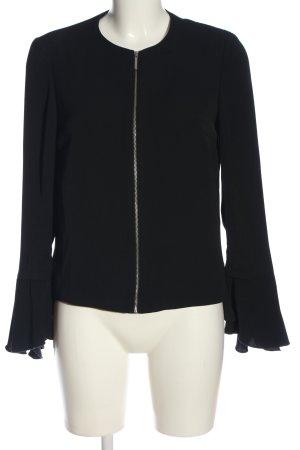 Zara Basic Blazer in maglia nero stile casual