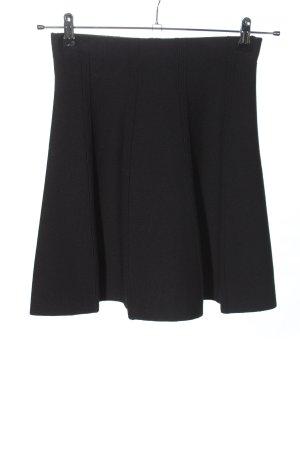 Zara Basic Knitted Skirt black casual look