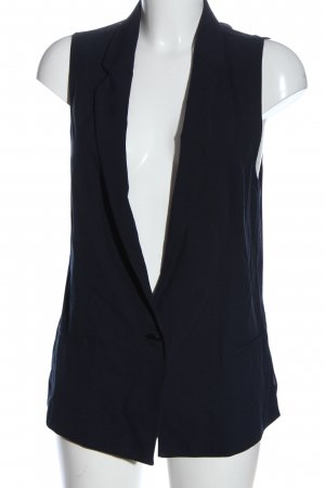 Zara Basic Anzugweste blau Party-Look