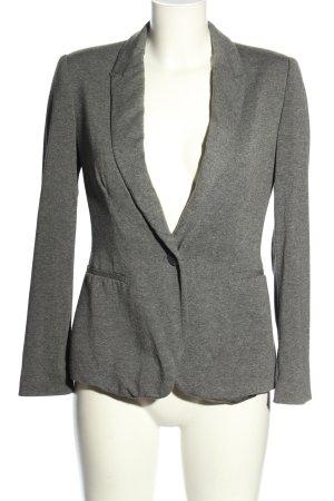 Zara Basic Blazer sweat gris clair moucheté style décontracté