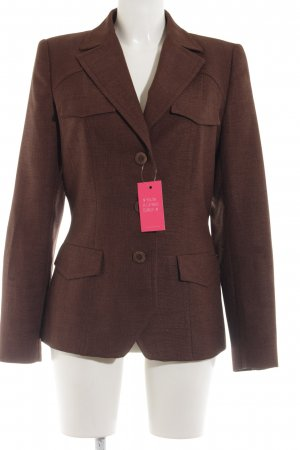 Zara Basic Sweatblazer bronzefarben Business-Look