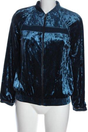 Zara Basic Sweatshirt bleu style décontracté