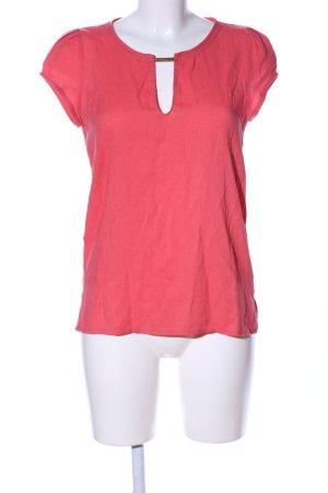 Zara Basic T-Shirt rot Casual-Look