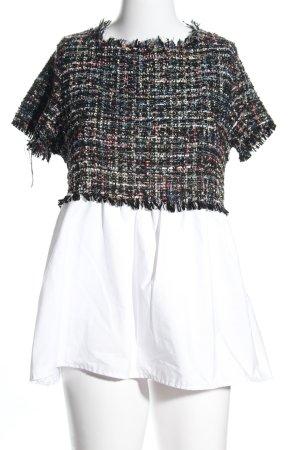 Zara Basic T-Shirt meliert Casual-Look