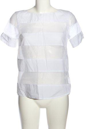 Zara Basic T-Shirt weiß Casual-Look