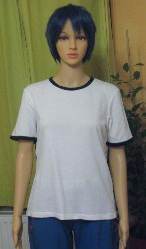 Zara T-Shirt white-black