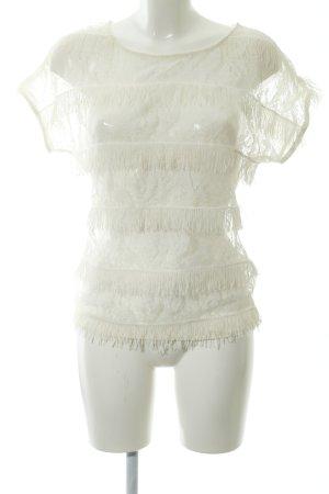 Zara Basic T-Shirt weiß