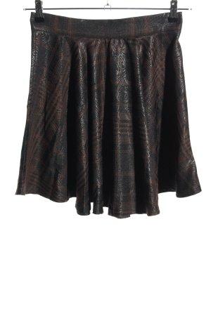 Zara Basic Jupe corolle imprimé allover style décontracté