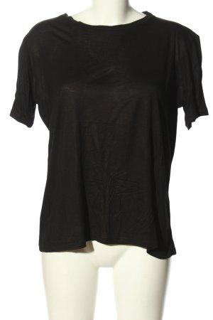 Zara Oversized Shirt black casual look