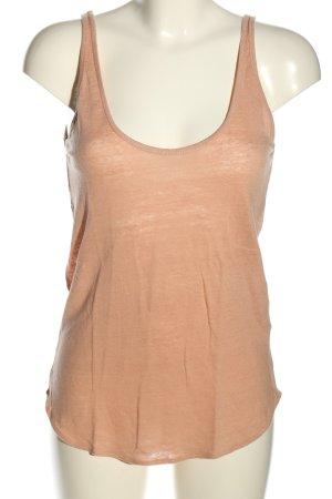 Zara Basic Top nude Casual-Look