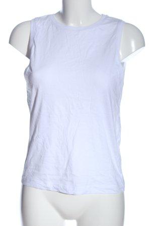 Zara Basic Top blau Casual-Look
