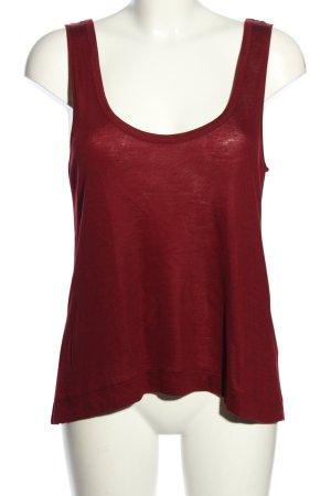 Zara Basic Top rot Casual-Look