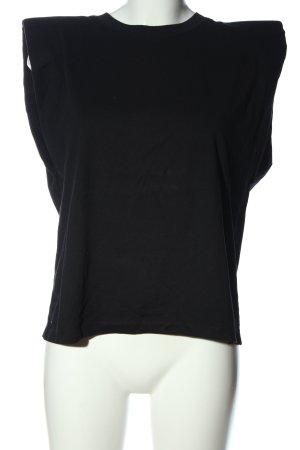 Zara Basic Top schwarz Elegant