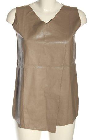 Zara Basic Top creme Casual-Look