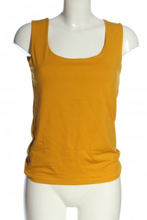 Zara Basic Top hellorange Casual-Look