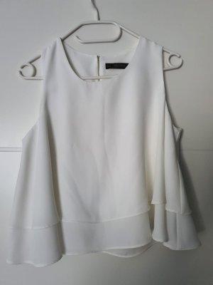 Zara basic top weiss
