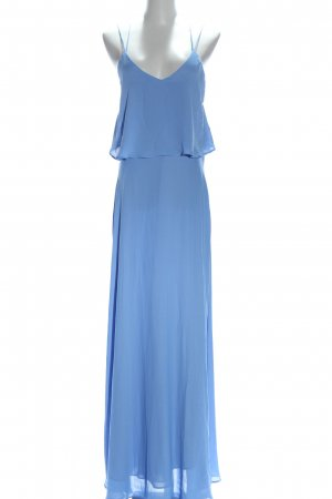 Zara Basic Trägerkleid blau Elegant
