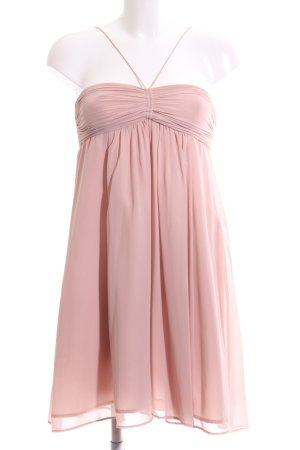 Zara Basic Trägerkleid pink Casual-Look