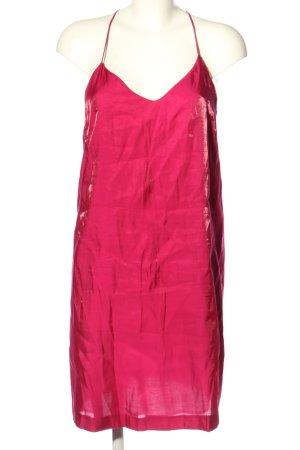 Zara Basic Trägerkleid rot Casual-Look