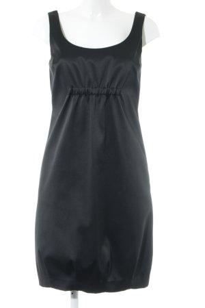 Zara Basic Trägerkleid schwarz Business-Look