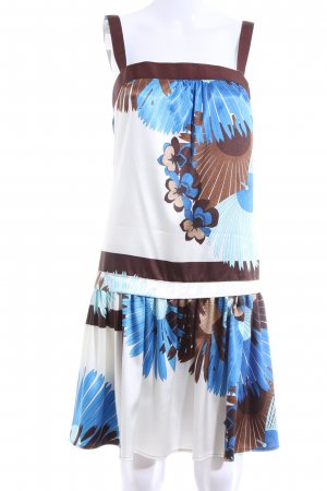 Zara Basic Trägerkleid Blumenmuster Casual-Look