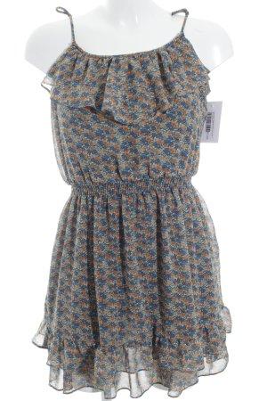 Zara Basic Trägerkleid Blumenmuster