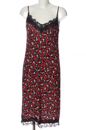 Zara Basic Trägerkleid Leomuster Elegant