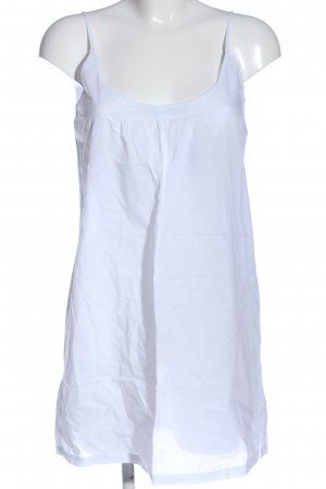 Zara Basic Trägerkleid weiß Casual-Look