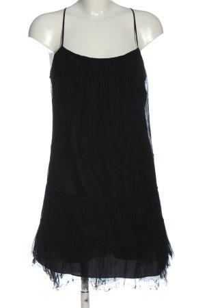 Zara Basic Trägerkleid schwarz Elegant