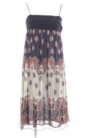 Zara Basic Trägerkleid mehrfarbig Casual-Look