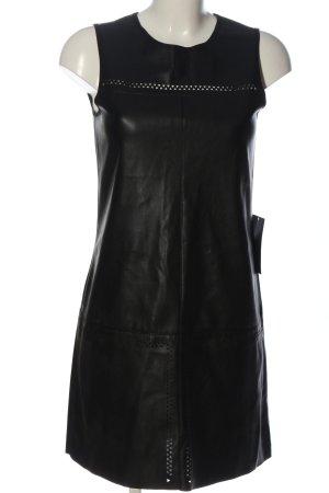 Zara Basic Trägerkleid schwarz extravaganter Stil
